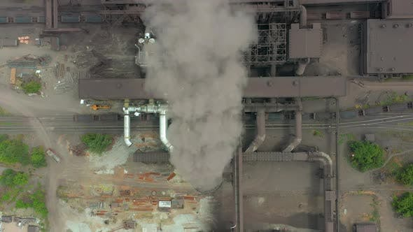 Thumbnail for Top View of the Metallurgical Plant