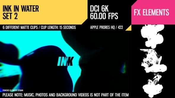 Ink In Water (6K Set 2)