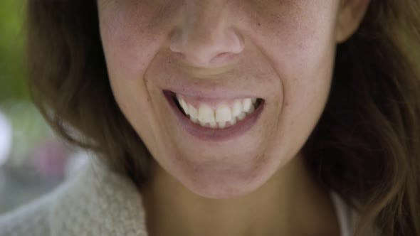 Thumbnail for Closeup Shot of Smiling Female Face