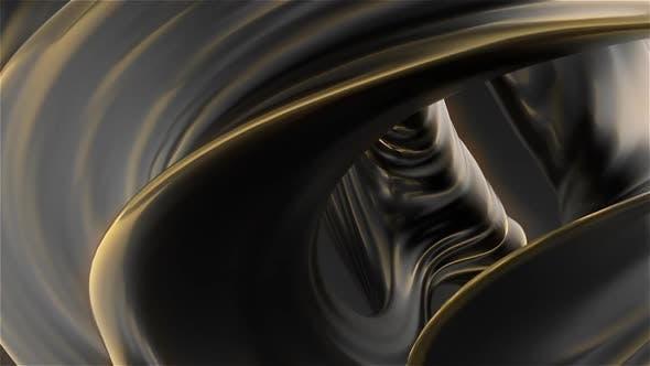 Black And Gold Twist