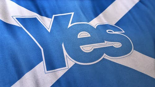 Yes Independence Scotland Banner Loop