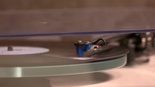 Record Player Music Plate