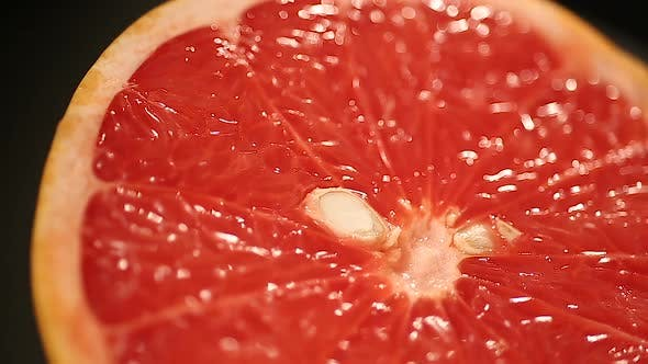 Fresh Juicy Grapefruit, Fruit With Antioxidant Properties, Cholesterol Treatment
