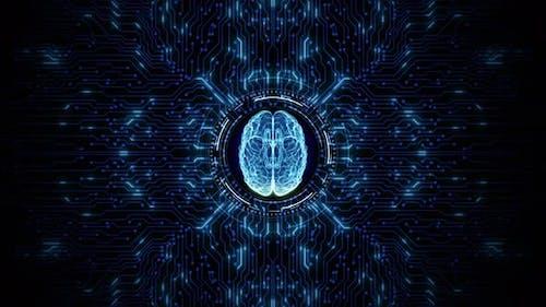 Künstliche Intelligenz Konzept 01038