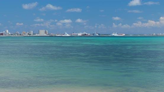 Thumbnail for Ishigaki island with blue sky and sea