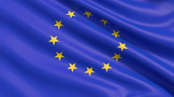 The European Flag or Flag of Europe Is an Official Symbol of Two Separate International