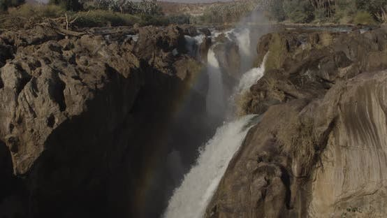 Thumbnail for Rocky Waterfall in Africa