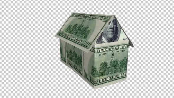 Geld Haus klein USD 100 I Loop Pro