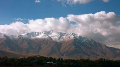 Timelapse mountains