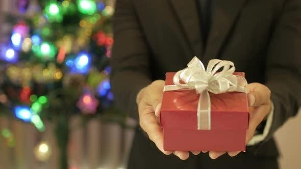 Thumbnail for Giving Gift Christmas