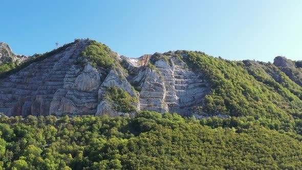 Landscape with Milestone Mountain