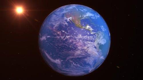 Realistische Planet Erde 4K Hohe Auflösung