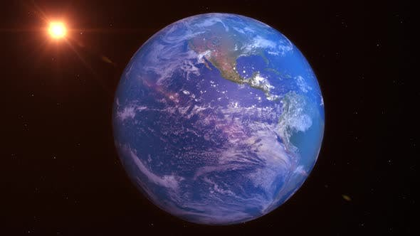 Thumbnail for Realistic Planet Earth 4K High Resolution