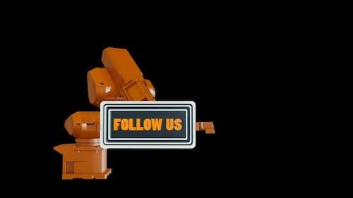 Robotic Arm and Follow Us