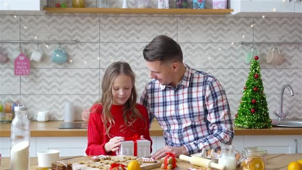 Thumbnail for Family of Dad and Daughter on Christmas Vacation