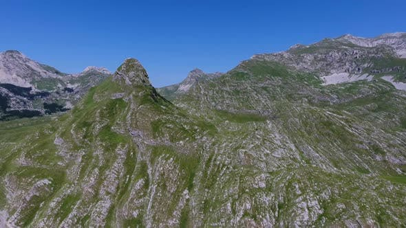 Thumbnail for Aerial View on Mountains in Durmitor, Montenegro