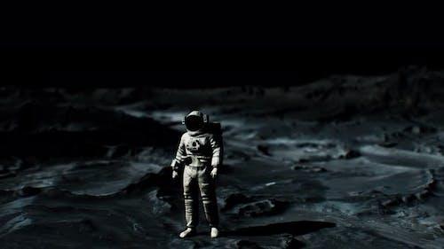 Astronaut on Lunar Landing Mission