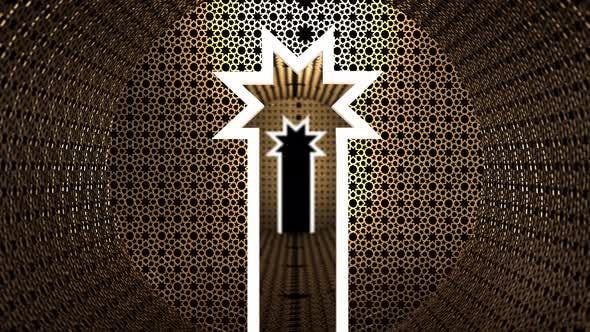 Thumbnail for Islamic Art Geometry 09 4 K