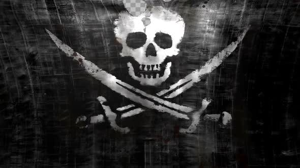 Thumbnail for Pirate Flag Tearing Opening 02