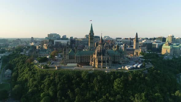 Thumbnail for Aerial of The Hill, in Ottawa