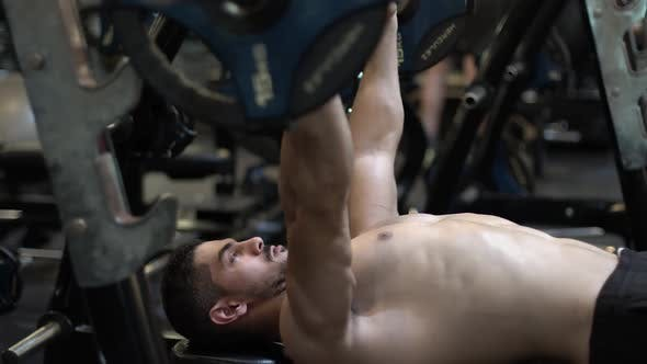 Thumbnail for Chest Workout At The Gym