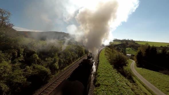 Thumbnail for Old Nostalgic Steam Engine Locomotive Train Technology