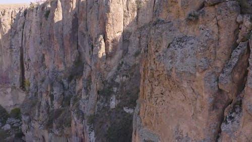 Ihlara Valley in Cappadocia, Turkey.