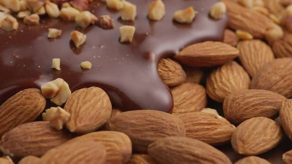 Thumbnail for Almonds and melted chocolate
