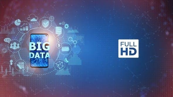 Cover Image for Big Data on Mobile Phone - Left Side (FULL HD)
