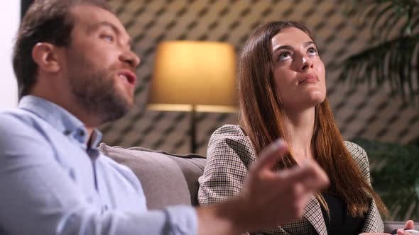 Thumbnail for Couple Conflict on Appointment with Psychologist