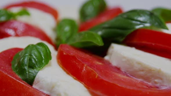 Thumbnail for Italian Caprese Salad With Mozzarella And Tomato 01