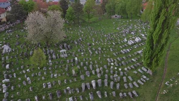 Thumbnail for Old Jewish Cemetery In Sarajevo V3