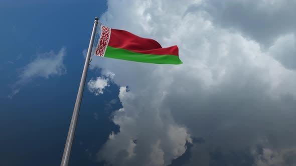 Belarus Flag Waving - 4K