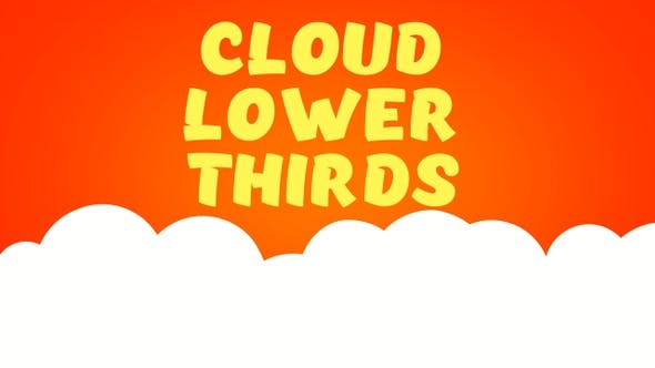 Cloud Lower Thirds