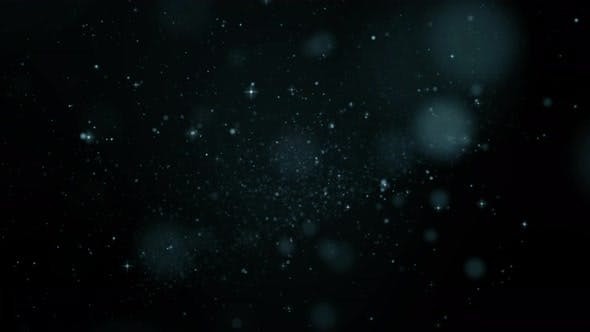 abstract dust particles and bokeh background