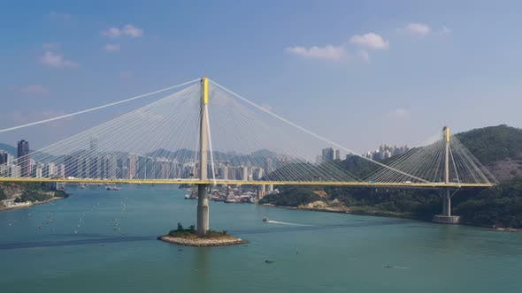 Thumbnail for Ting Kau Bridge in Hong Kong