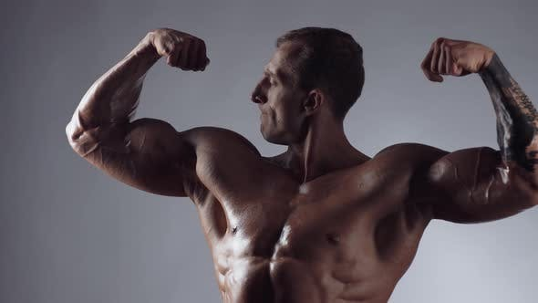 Thumbnail for Handsome Shirtless Athletic Man