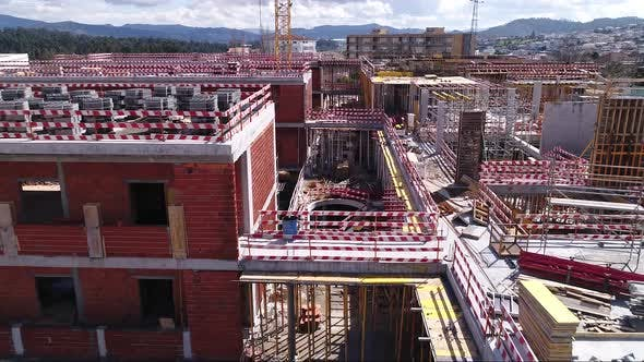 Thumbnail for Aerial View of Construction Site