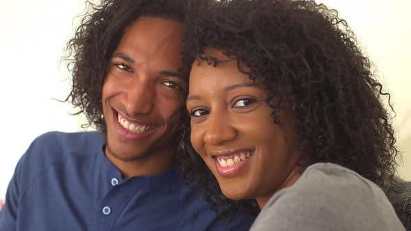 Thumbnail for Happy black couple