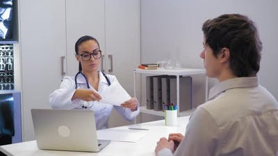 Physician Giving Consultation