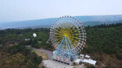 Ferris Wheel Aerial View
