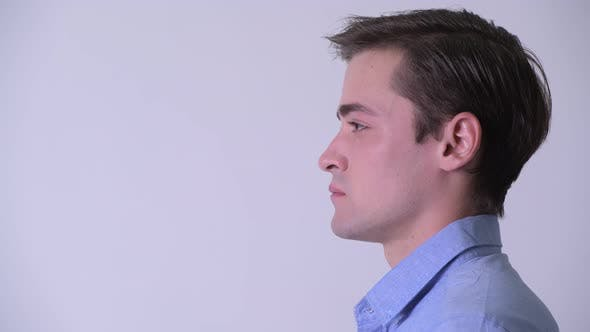 Cover Image for Profile View of Young Handsome Businessman