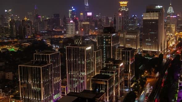 Thumbnail for Shanghai Urban Cityscape Pan Up