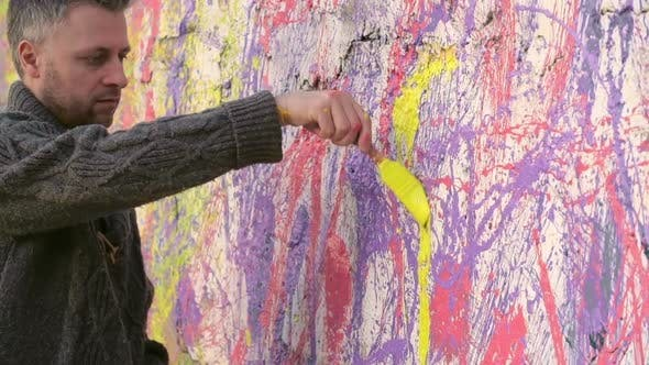 Thumbnail for Colorful Wall Painting