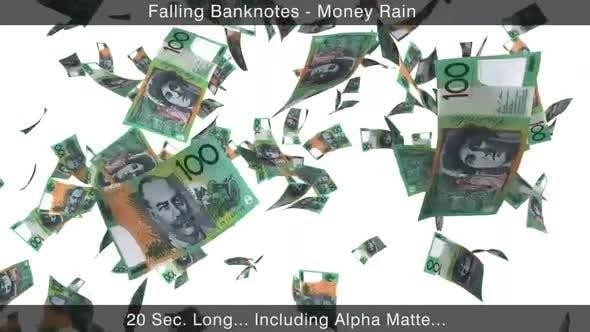 Thumbnail for Money Rain Australian Dollars