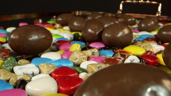Delicious And Sweet Candies And Chocolate 4