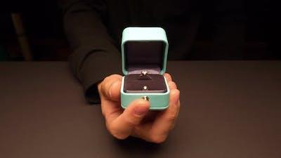 Jeweler Shows Jewelry