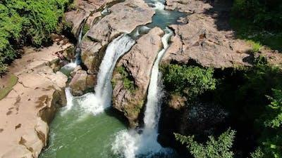 Malacatiupan Waterfalls Awesome Aerial