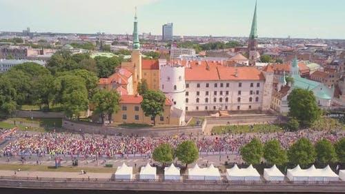 Marathon in Riga