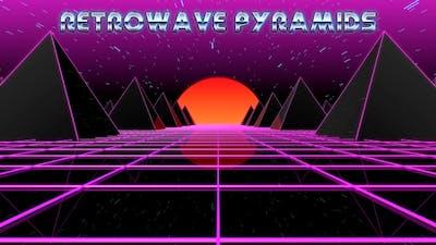 Retrowave Pyramids
